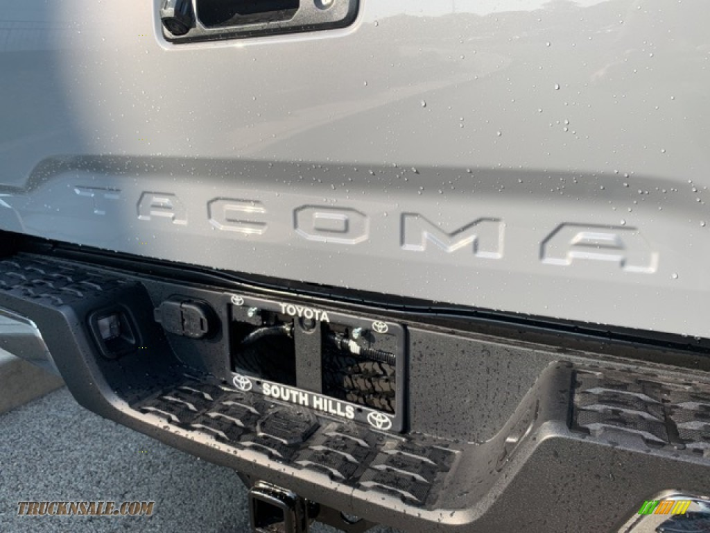 2021 Tacoma TRD Off Road Double Cab 4x4 - Lunar Rock / TRD Cement/Black photo #30