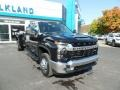 Chevrolet Silverado 3500HD LT Crew Cab 4x4 Black photo #3