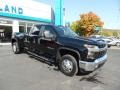 Chevrolet Silverado 3500HD LT Crew Cab 4x4 Black photo #4