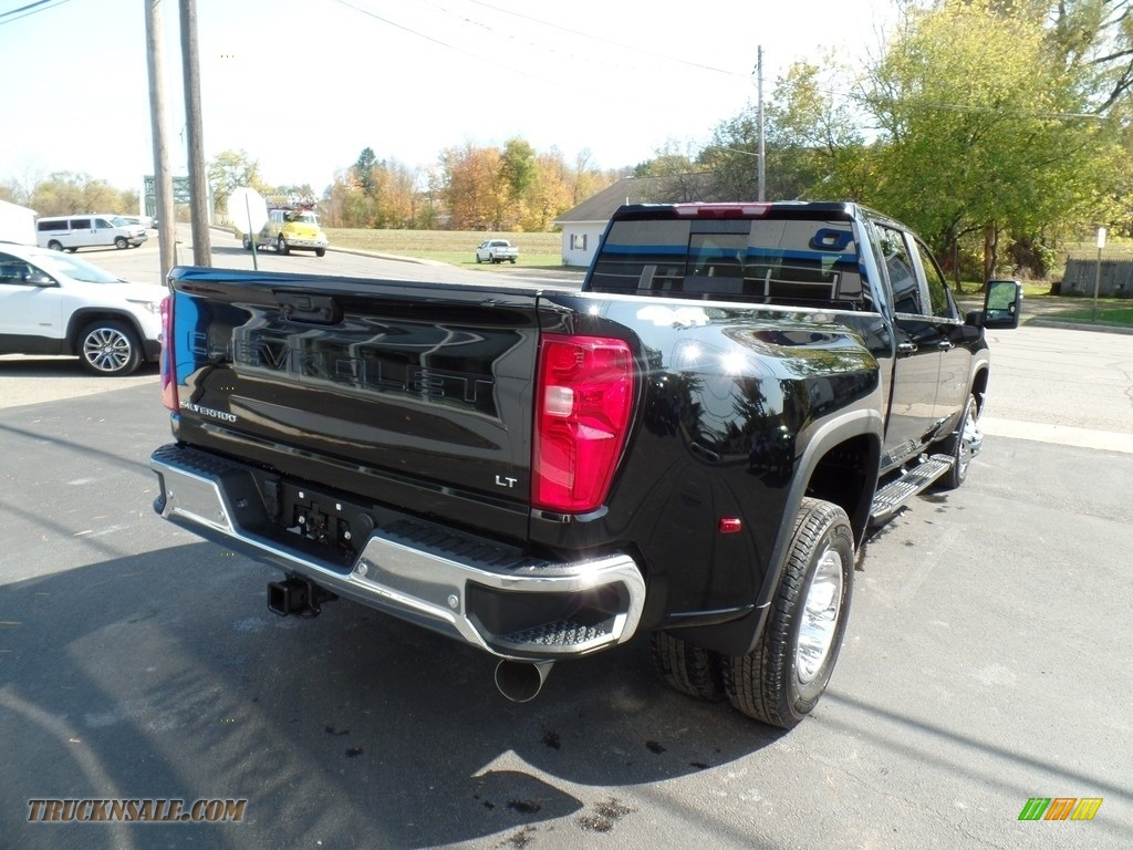 2020 Silverado 3500HD LT Crew Cab 4x4 - Black / Jet Black photo #8
