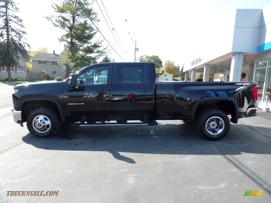 2020 Silverado 3500HD LT Crew Cab 4x4 - Black / Jet Black photo #13