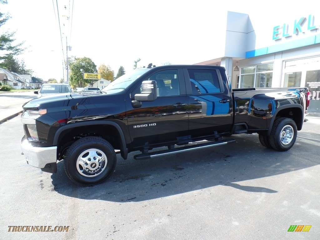 2020 Silverado 3500HD LT Crew Cab 4x4 - Black / Jet Black photo #14