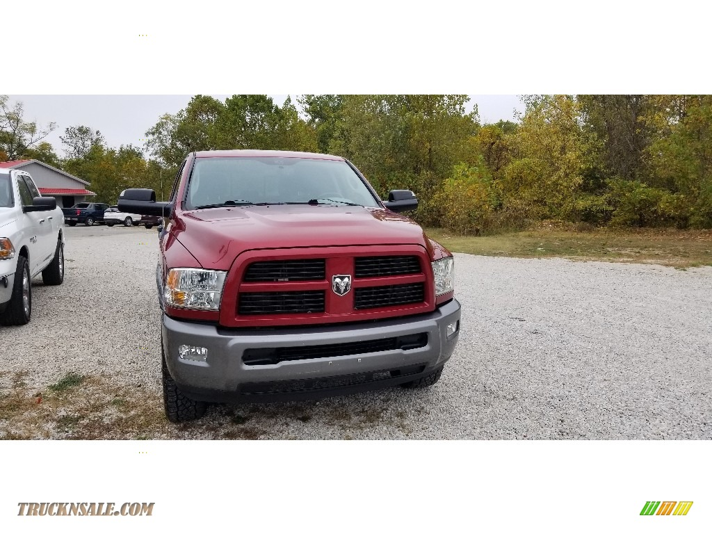 2012 Ram 2500 HD SLT Outdoorsman Crew Cab 4x4 - Deep Cherry Red Crystal Pearl / Dark Slate/Medium Graystone photo #2