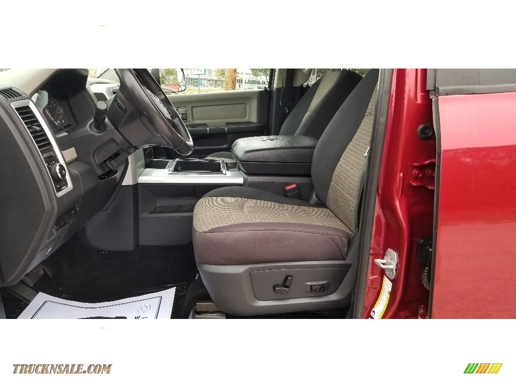2012 Ram 2500 HD SLT Outdoorsman Crew Cab 4x4 - Deep Cherry Red Crystal Pearl / Dark Slate/Medium Graystone photo #12