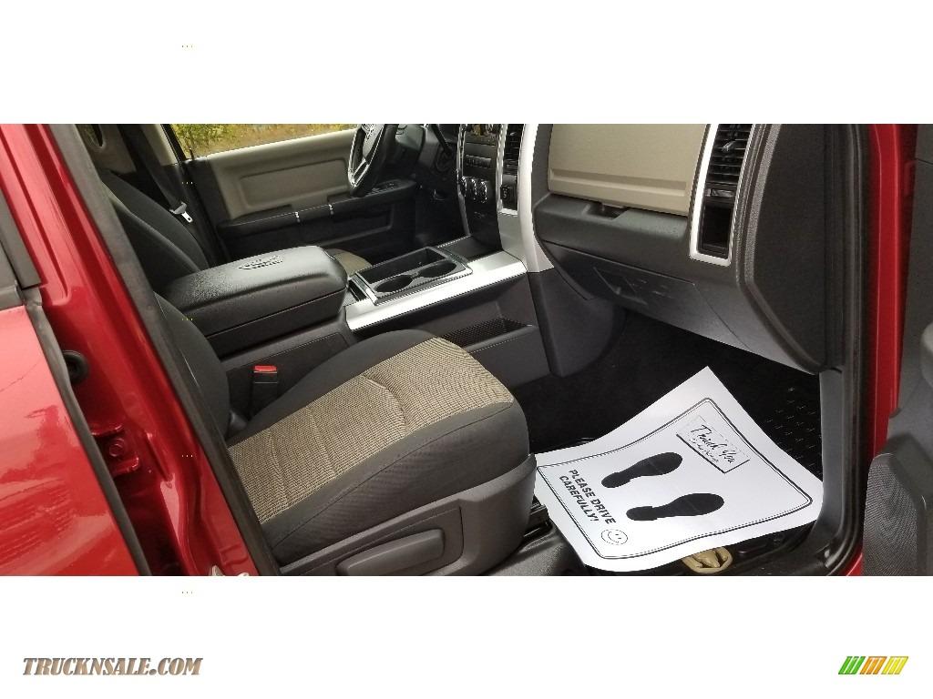 2012 Ram 2500 HD SLT Outdoorsman Crew Cab 4x4 - Deep Cherry Red Crystal Pearl / Dark Slate/Medium Graystone photo #17