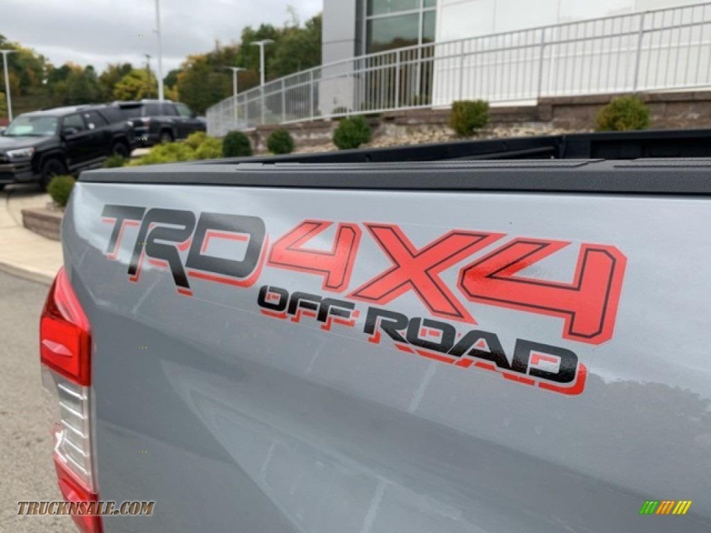 2021 Tundra TRD Off Road CrewMax 4x4 - Cement / Graphite photo #29
