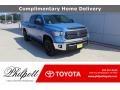 Toyota Tundra SR5 CrewMax 4x4 Cavalry Blue photo #1