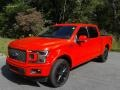 Ford F150 Lariat SuperCrew 4x4 Race Red photo #3