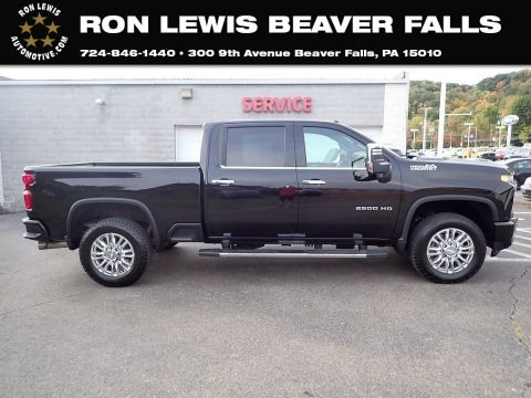 Black 2020 Chevrolet Silverado 2500HD High Country Crew Cab 4x4