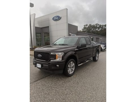 Magma Red 2018 Ford F150 XL SuperCab 4x4