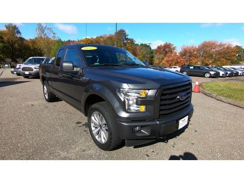Magnetic 2017 Ford F150 XL SuperCab 4x4