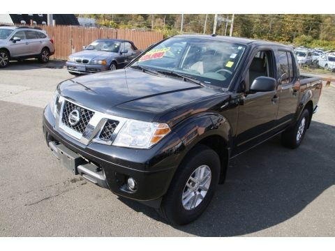 Magnetic Black 2017 Nissan Frontier SV Crew Cab 4x4