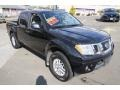 Nissan Frontier SV Crew Cab 4x4 Magnetic Black photo #3