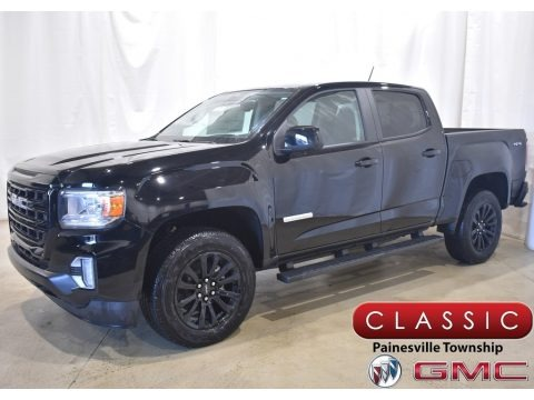 Onyx Black 2021 GMC Canyon Elevation Crew Cab 4WD