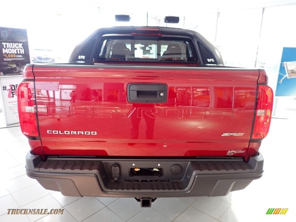 2021 Colorado ZR2 Crew Cab 4x4 - Cherry Red Tintcoat / Jet Black photo #7