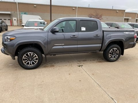 Magnetic Gray Metallic 2021 Toyota Tacoma TRD Sport Double Cab 4x4