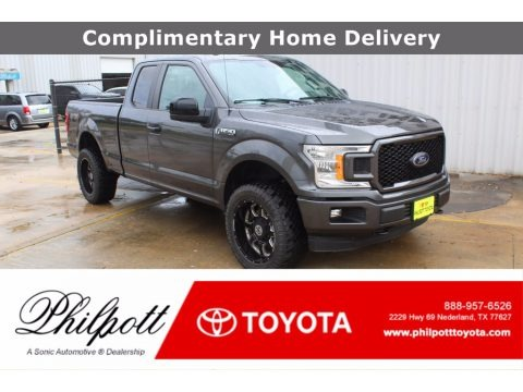 Magnetic 2018 Ford F150 XL SuperCab 4x4