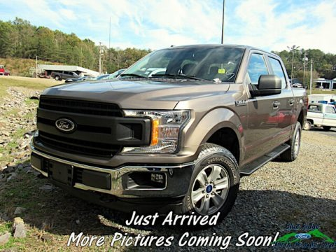 Stone Gray 2018 Ford F150 XLT SuperCrew 4x4