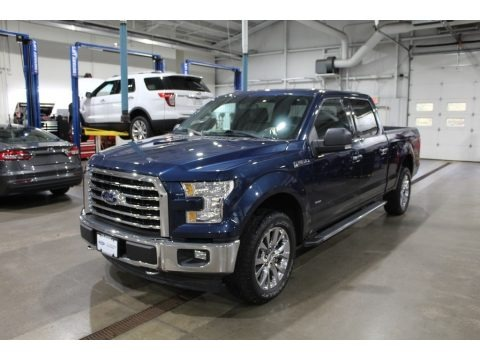 Blue Jeans 2017 Ford F150 XLT SuperCrew 4x4