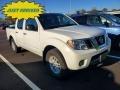 Nissan Frontier SV Crew Cab 4x4 Glacier White photo #1