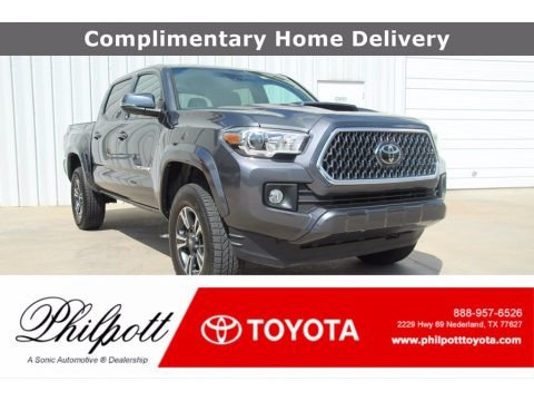 Magnetic Gray Metallic 2019 Toyota Tacoma TRD Sport Double Cab