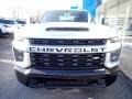 Chevrolet Silverado 2500HD Custom Crew Cab 4x4 Silver Ice Metallic photo #10