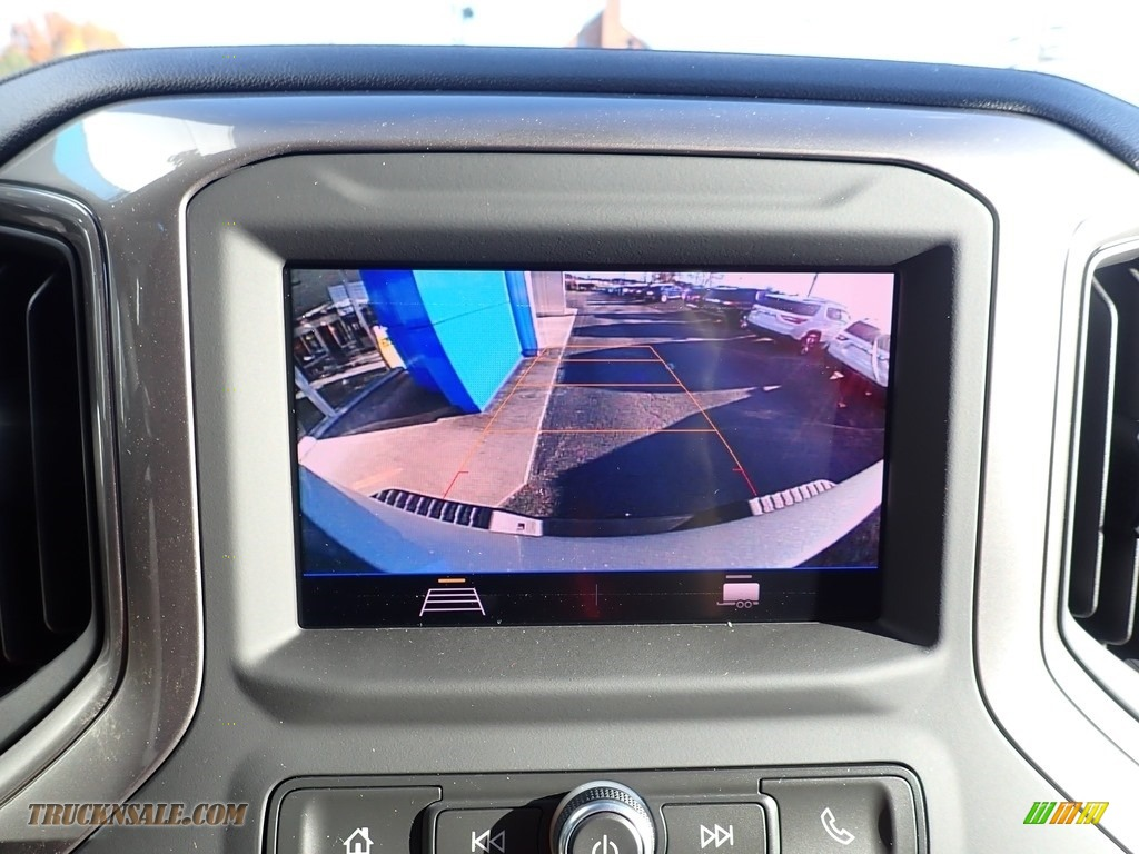 2020 Silverado 2500HD Custom Crew Cab 4x4 - Silver Ice Metallic / Jet Black photo #15