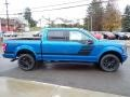 Ford F150 XLT SuperCrew 4x4 Velocity Blue photo #6