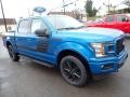 Ford F150 XLT SuperCrew 4x4 Velocity Blue photo #7