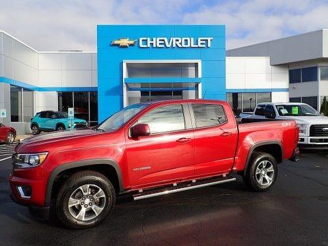 Red Rock Metallic 2016 Chevrolet Colorado Z71 Crew Cab 4x4