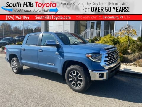 Cavalry Blue 2021 Toyota Tundra Limited CrewMax 4x4