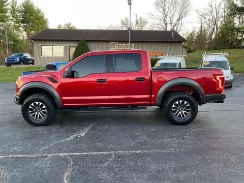 Rapid Red 2020 Ford F150 SVT Raptor SuperCrew 4x4
