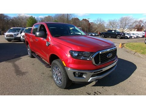 Rapid Red 2020 Ford Ranger XLT SuperCrew 4x4