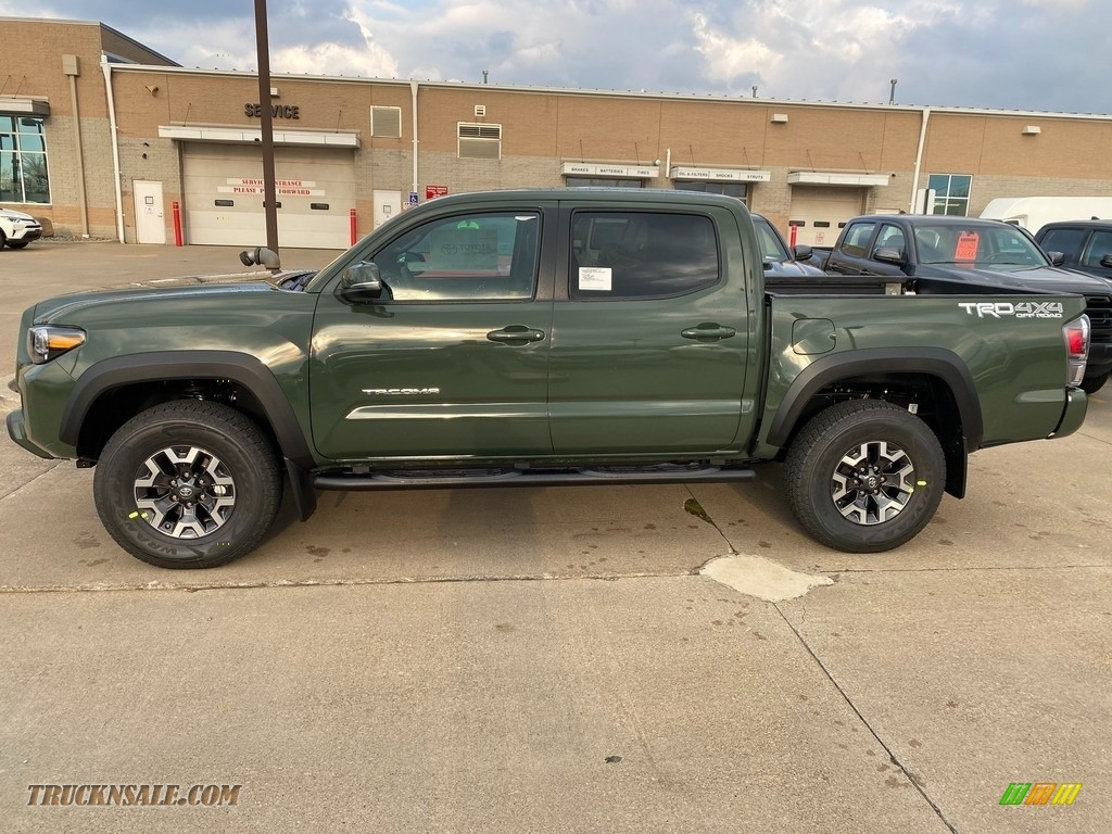 2021 Tacoma TRD Off Road Double Cab 4x4 - Army Green / Black photo #1
