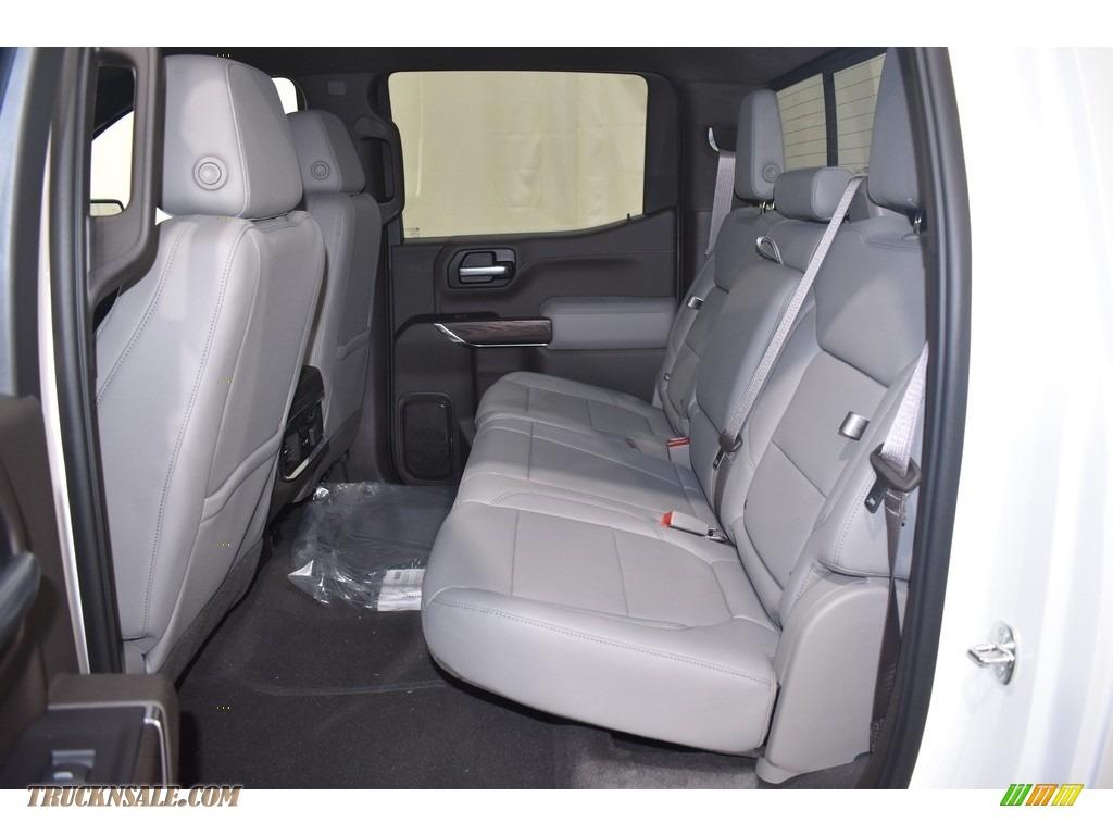 2021 Sierra 1500 SLT Crew Cab 4WD - White Frost Tricoat / Dark Walnut/Slate photo #7