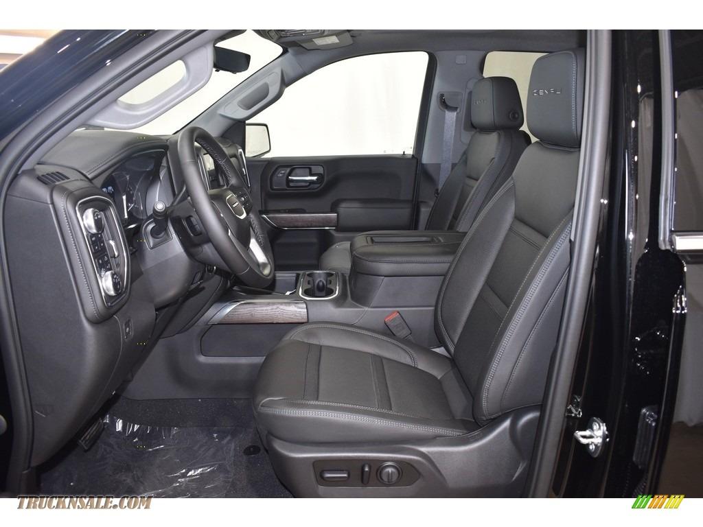 2021 Sierra 1500 Denali Crew Cab 4WD - Onyx Black / Jet Black photo #8