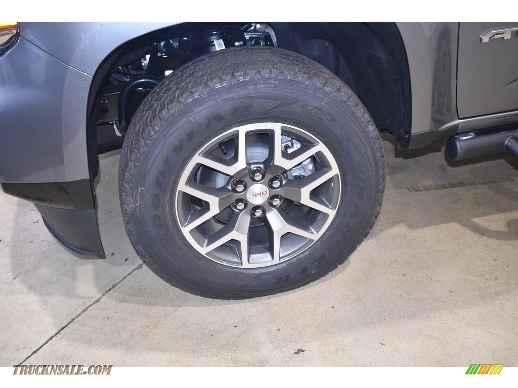 2021 Canyon AT4 Crew Cab 4WD - Satin Steel Metallic / Jet Black/Dark Ash photo #5