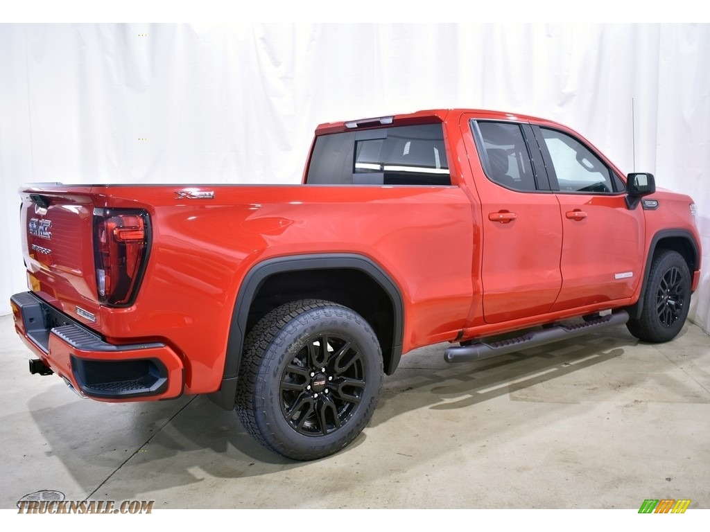 2021 Sierra 1500 Elevation Double Cab 4WD - Cardinal Red / Jet Black photo #2