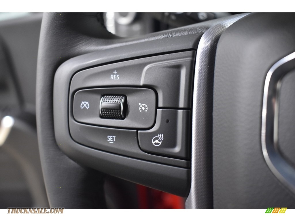 2021 Sierra 1500 Elevation Double Cab 4WD - Cardinal Red / Jet Black photo #11