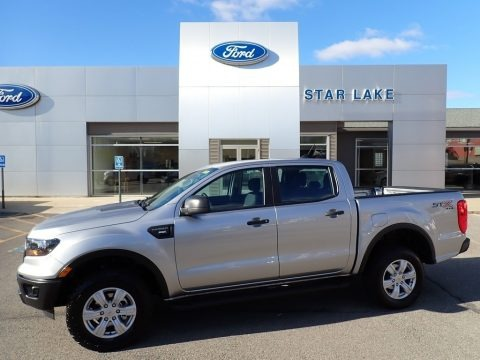 Iconic Silver 2020 Ford Ranger STX SuperCrew 4x4