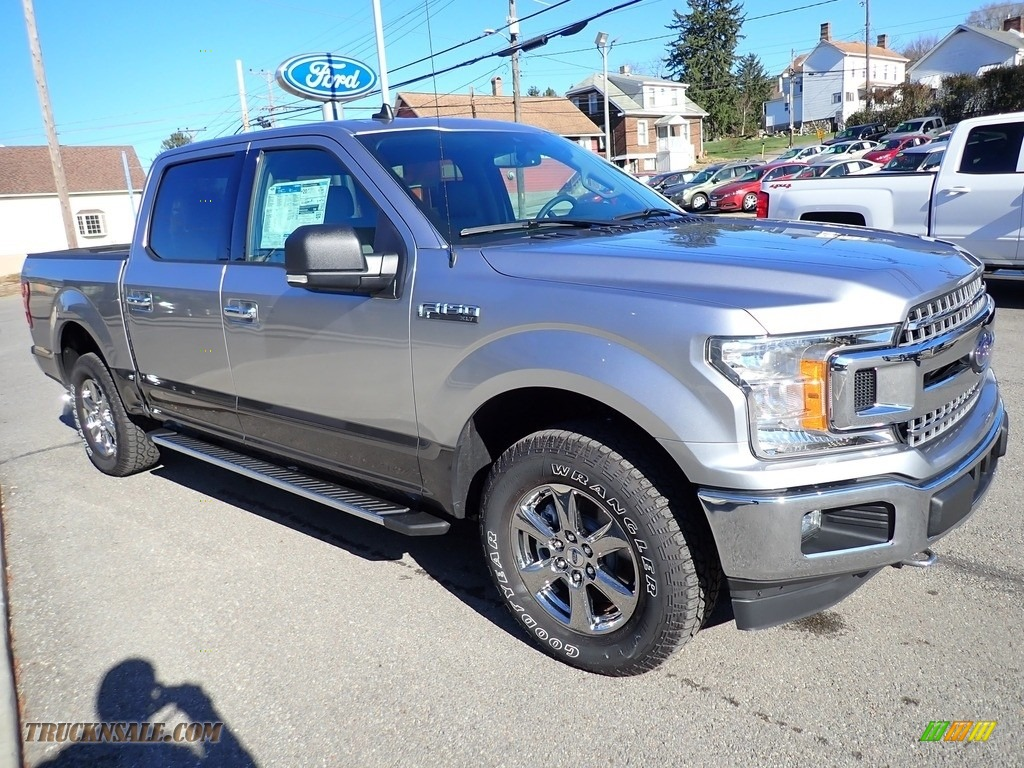 2020 F150 XLT SuperCrew 4x4 - Iconic Silver / Medium Earth Gray photo #7