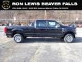 Ford F250 Super Duty XL Crew Cab 4x4 Agate Black photo #1