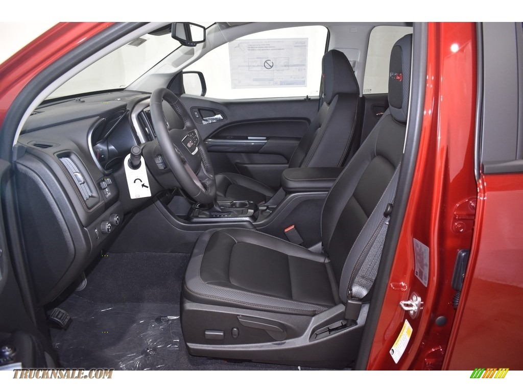 2021 Canyon AT4 Crew Cab 4WD - Cayenne Red Tintcoat / Jet Black/Kalahari photo #6