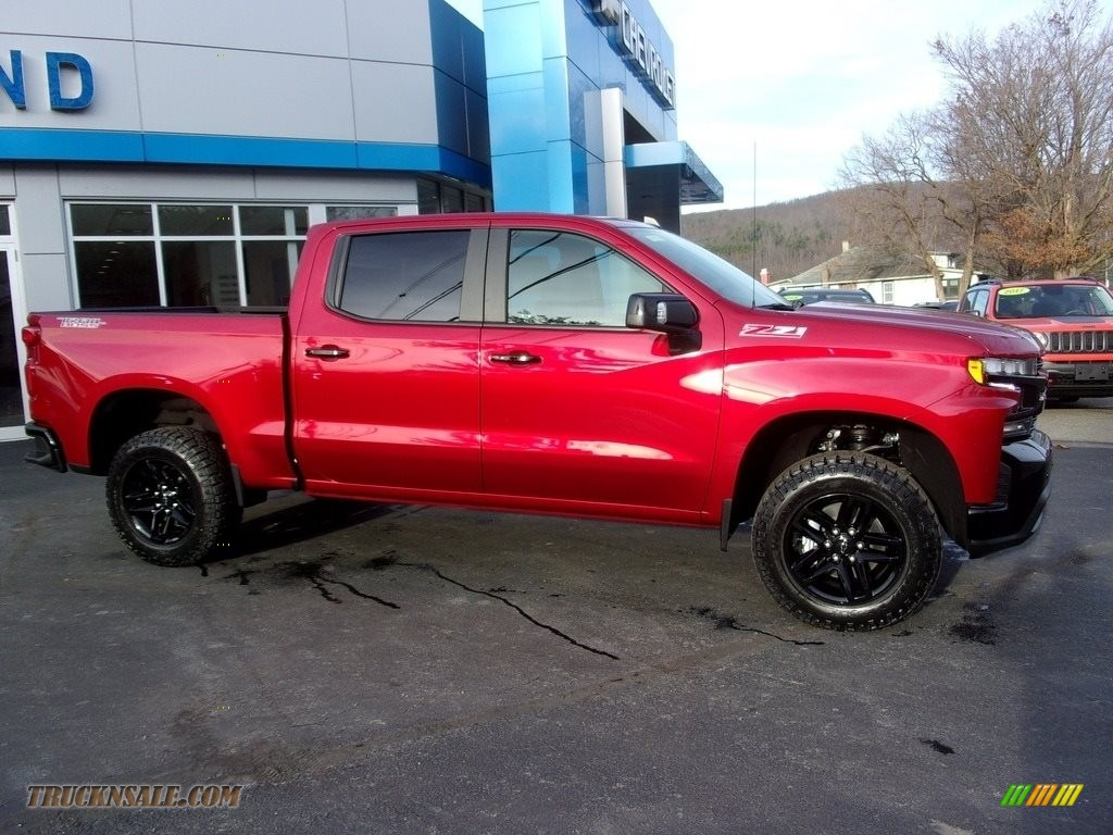 2021 Silverado 1500 LT Trail Boss Crew Cab 4x4 - Cherry Red Tintcoat / Jet Black photo #1