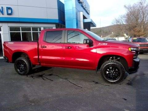 Cherry Red Tintcoat 2021 Chevrolet Silverado 1500 LT Trail Boss Crew Cab 4x4