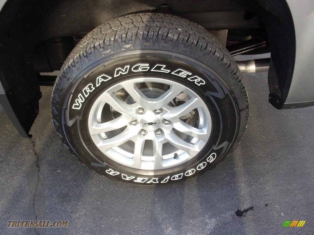 2021 Silverado 1500 RST Crew Cab 4x4 - Satin Steel Metallic / Jet Black photo #12