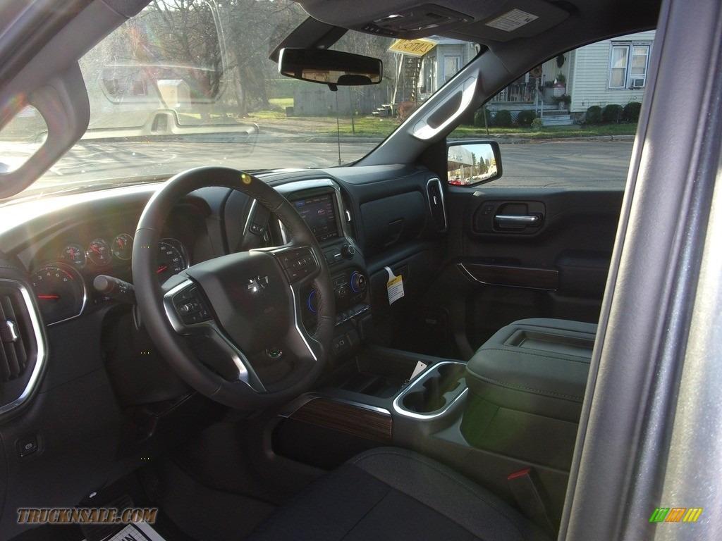 2021 Silverado 1500 RST Double Cab 4x4 - Satin Steel Metallic / Jet Black photo #14