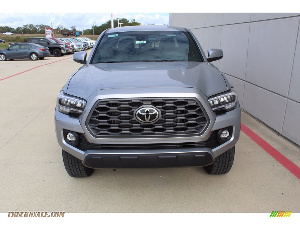 2021 Tacoma TRD Off Road Double Cab 4x4 - Silver Sky Metallic / TRD Cement/Black photo #3