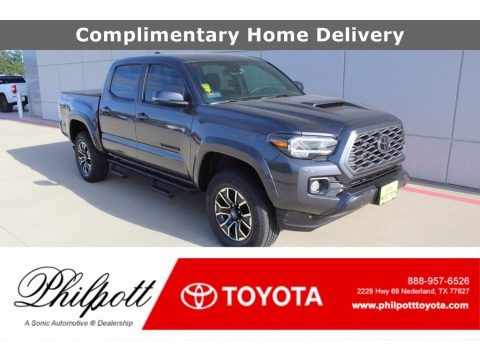 Magnetic Gray Metallic 2021 Toyota Tacoma TRD Sport Double Cab