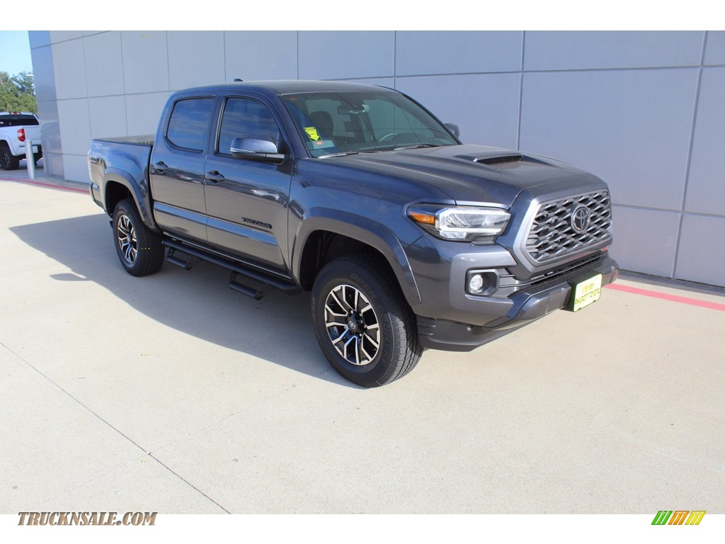 2021 Tacoma TRD Sport Double Cab - Magnetic Gray Metallic / Cement photo #2